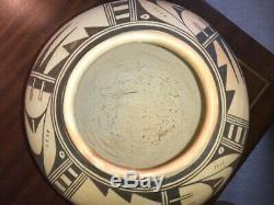 LARGE Hopi Pottery Pueblo Native American Indian Bean Pot Storage Jar OLD