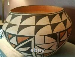 Large 1930's Acoma Pueblo Pottery Olla Native American Indian