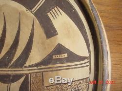 Large Old Hopi Indian Nampeyo Sityatki Revival Pottery Bowl