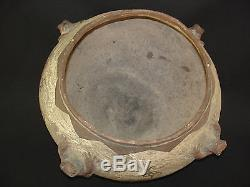 Large Zuni Pottery Frog Jar, Southwest Native American Indian, c. 1890