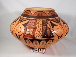 Largestunning Hopi Indian Pottery By Award Winning Artist Stetson Setalla