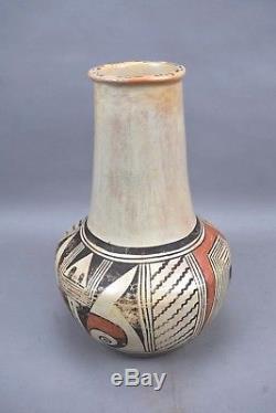 Lena Chio Charlie Pottery Vase Pot Hopi Native American Corn woman Signed