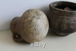 Lot Prehistoric Southwest Native American Indian Pottery Pitcher, Pots & Shards