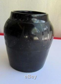 MARIE & JULIAN MARTINEZ Black on Black Pottery, 6' Tall 18 Circumference