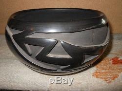 MIDA TAFOYA Santa Clara Pueblo Native American Indian Pottery Avanyu Bowl