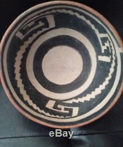 MINT LARGE ANASAZI PRE-HISTORIC POTTERY BOWL 1300AD nr