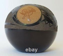 Mae Tapia-Suazo Miniature Native American Sgraffito Pottery Signed