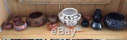Margaret Tafoya Santa Clara Pueblo Native American Pottery Bowl
