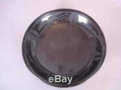 Maria Martinez MARIE & SANTANA San Ildefonso Pottery 6.5 BOWL /DISH 1943-1956