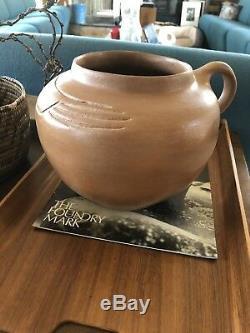 Micaceous Clay Pottery by Edna Romero Santa Clara Taos Pueblo Native American