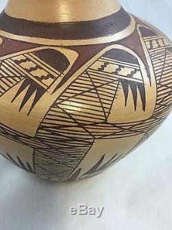 Miriam Nampeyo Hopi Native American Pottery Olla Vase