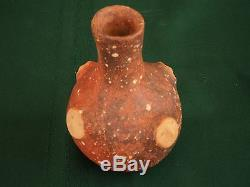 Mississippian Quapaw Pottery Effigy Bottle