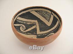 Mogollon/Anasazi/Hohokam Salado Ware Bowl Unrestored
