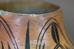 Nampeyo Of Hano Hopi Jar. From The'moth' Jar Series. 1910. No Reserve