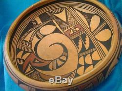 Nampeyo Hopi Tewa Bowl Native American Polychrome Pottery