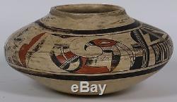 Nampeyo Tewa Sikyatki Eagle Jar Native American Indian studio pottery jar