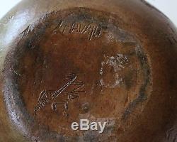 Nancy Chilly Navajo Native American Southwestern Pottery Pine Pitch Seed Pot