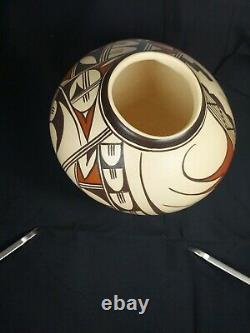 Native American A. Yesslith Hopi Pottery Bowl