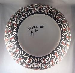 Native American Acoma Olla by Sharon Stevens