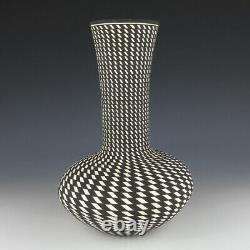 Native American Acoma Pottery Jar By Paula Estevan