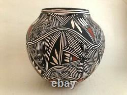 Native American Acoma Pottery Vase Charlene Estevan