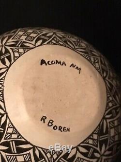 Native American Acoma Pueblo Pottery