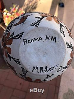 Native American Acoma Wedding Case by Mildred Antonio