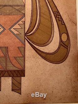 Native American Artist Helen Hardin Tsa-sah-wee-eh III-VIII Aquatint Etching