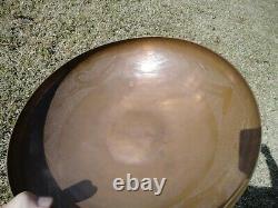 Native American Copper Bowl By Awa Tsireh (garden Of The Gods)