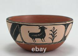 Native American Dough Bowl by Henry and Marie Lovato