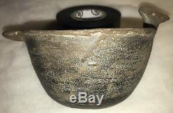 Native American Duck Rim Effigy Bowl