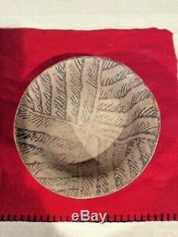 Native American Hohokam/Anasazi Flared Rim Pottery Bowl, UNDAMAGED