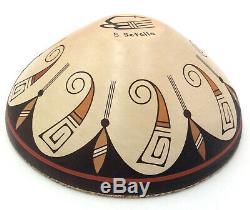 Native American Hopi Bowl by Stetson Setalla