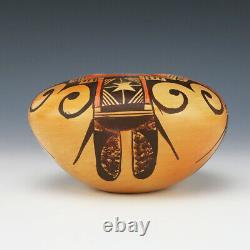 Native American Hopi Pottery Bowl By Adelle Nampeyo