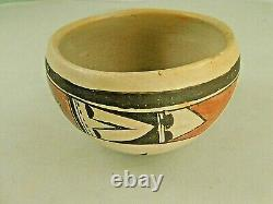 Native American Hopi Pottery Bowl RACHEL NAMPEYO