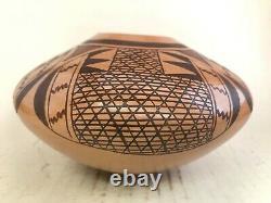Native American Hopi Pottery bowl Vernida Polacca Nampeyo