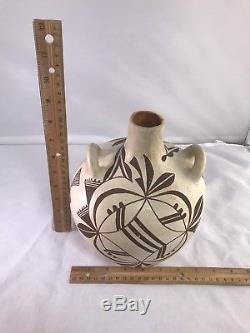 Native American Indian Early 1900s Acoma Water Jug Pottery