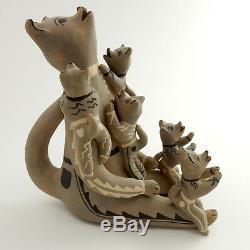 Native American Indian Handmade Storyteller Pottery