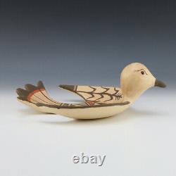 Native American Jemez Pottery Bird By Juanita Fragua