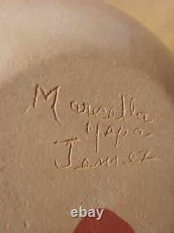 Native American Jemez Pueblo Pottery Clay Vase by Marcella Yepa