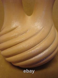 Native American Jemez Pueblo Pottery Clay Wedding Vase by Marcella Yepa