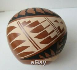 Native American Jemez Pueblo Pottery Seed Pot By Well Listed Mary H Loretto