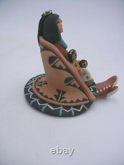 Native American Jemez Storyteller by Carol Lucero Gachupin