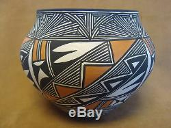 Native American Laguna Indian Pottery Hand Painted Pot by Debra Waconda PT0240