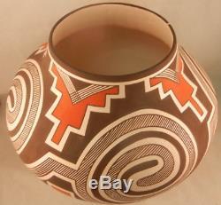 Native American Laguna Traidtional Jar by Myron Sarracino