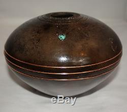Native American Medium Seed Pot by Gerald Pinto, Navajo