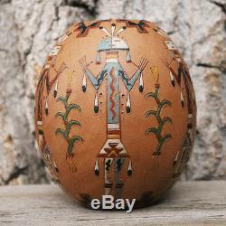 Native American Navajo Pottery Bowl By Nancy Chilly Native American Pottery