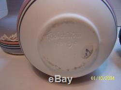 Native American Navajo Pottery Signed. 8 Pieces