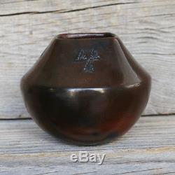 Native American Navajo Pottery Vase By Alice Cling Native American Pottery