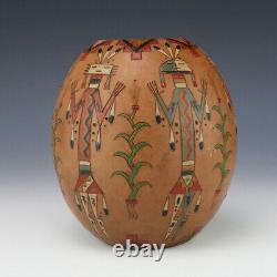 Native American Navajo Pottery Vase By Nancy Chilly Native American Pottery